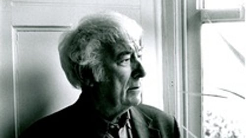 In a Field: Seamus Heaney's posthumously published poem is in today's editions of The Irish Times and Guardian.