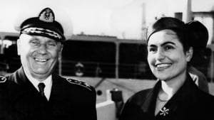 Jovanka Broz with her husband Marshal Tito in 1955