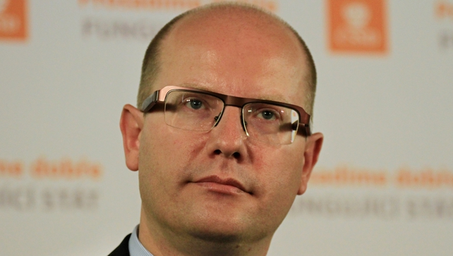 Leader of Czech Social Democrats Bohuslav Sobotka asked to quit by party after narrowly winning election