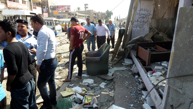 Wave of bombings has left at least 55 people dead in Iraq