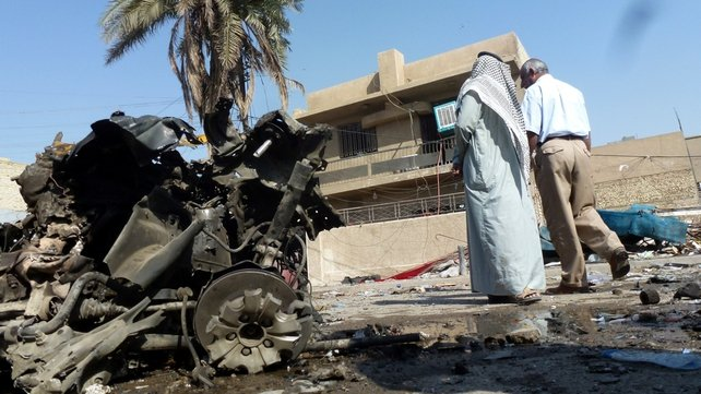Nine of the blasts hit predominantly Shia Muslim districts
