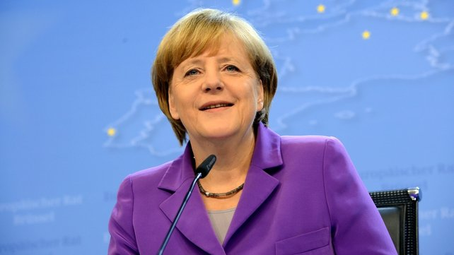 German Chancellor Angela Merkel fell while skiing over the Christmas vacation