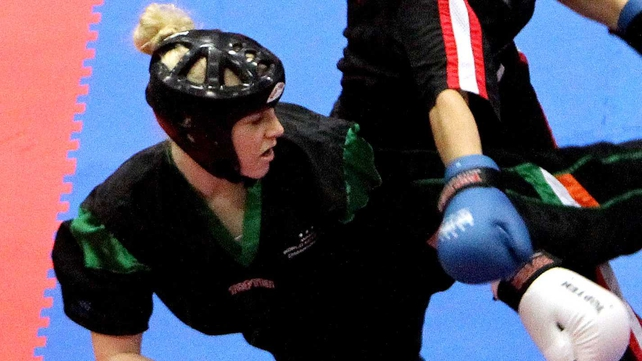 Shauna Bannon took gold in the Women's 60kg final