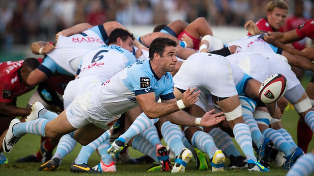 Mike Phillips in action for the French club