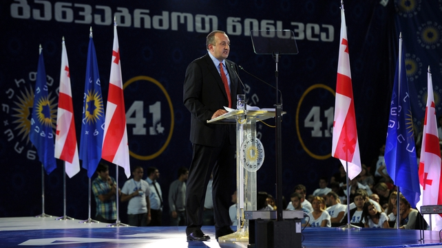Georgy Margvelashvili's win would cement the Georgian Dream coalition's grip on power