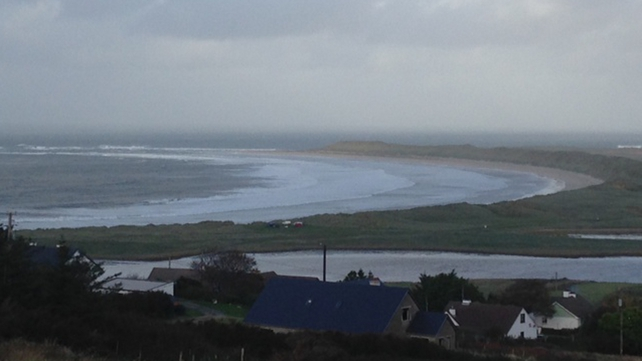 Storm approaching Machaire Rabhartaigh, Donegal (pic: Reuben Ó Conluain)