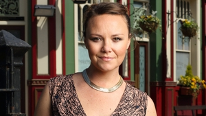 Charlie Brooks' character Janine was last seen leaving for France in 2014 (Photo: BBC/EastEnders)