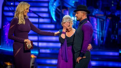 Deboran Meaden departs Strictly Come Dancing