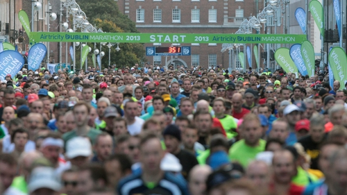 The largest ever field of runners, walkers and wheelchair athletes took part in the 2013 Dublin Marathon