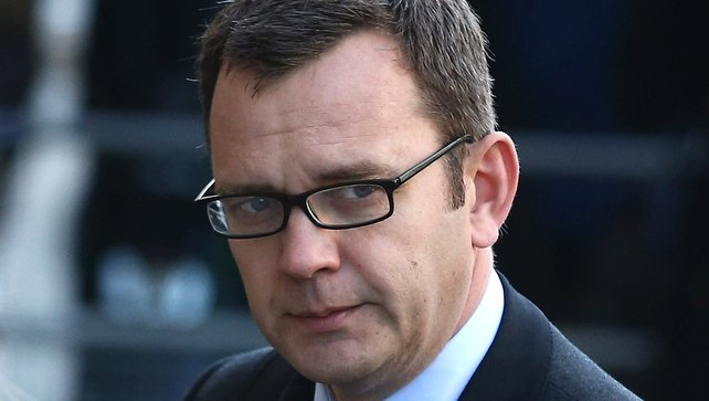Former editor of the News of the World Andy Coulson enters the Old Bailey