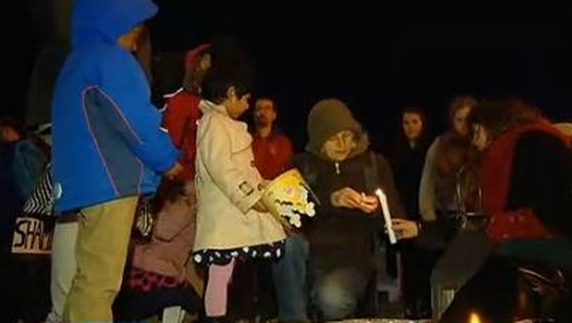 Vigils held across three cities to mark the first anniversary of the death of Savita Halappanavar