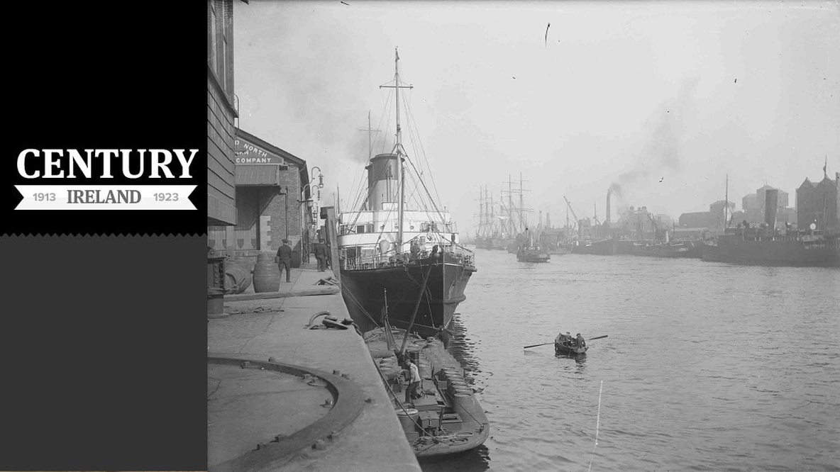Century Ireland Issue 14, Dublin Port