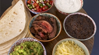 Steak Fajitas - A mexican treat for all the family from Rachel Allen's Everyday Kitchen