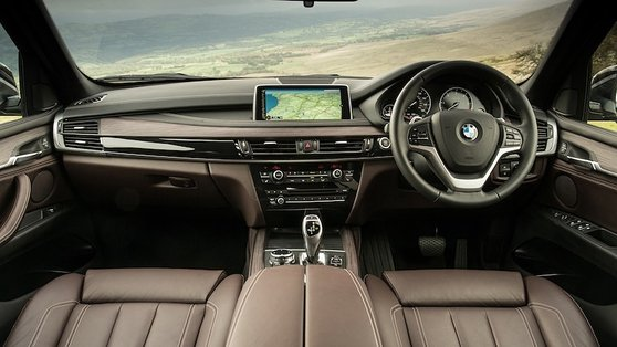 Inside, you clearly know you are in a BMW