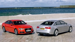 Audi has provided a fleet of Audi A6 models which will act as a shuttle for the 350 high profile speakers