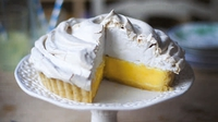 Lemon Meringue Pie - Lemon meringue pie is just one of those classic show-stopping desserts that is almost always guaranteed to be met with a chorus of 'oooohs' and 'aaaaahs'.