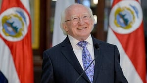 President Michael D Higgins was speaking on the last day of his trip to Central America