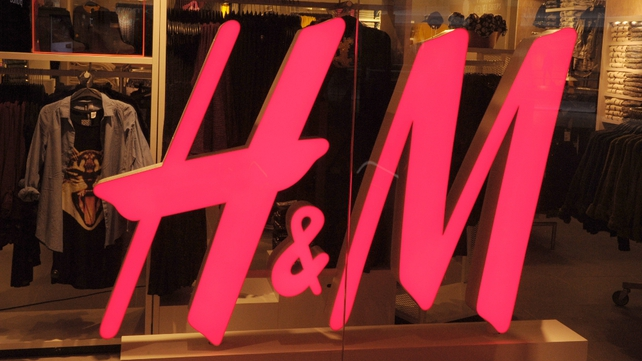 H&M said its June sales were off to a good start after a near 20% increase in May