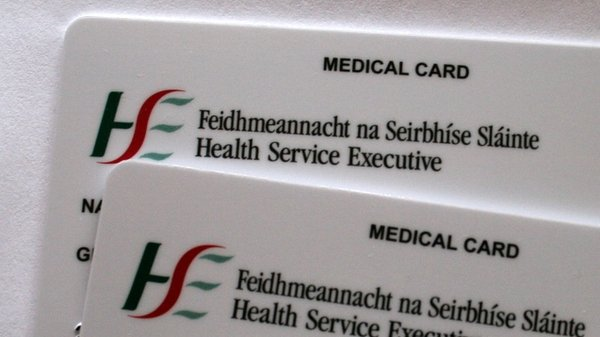 The delegation was told by the HSE that some medical card documentation has been misfiled