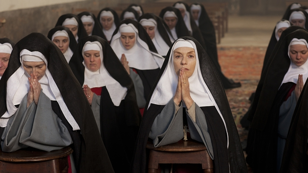 Isabelle Huppert plays a fragile Mother Superior in The Nun