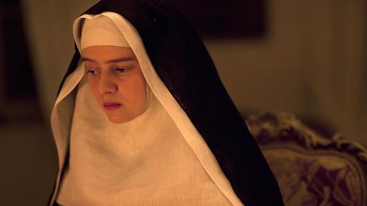 An tSiúr Faustina, ó na Cláiríní Bochta, Gaillimh.