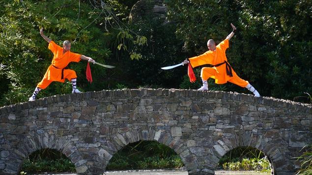 Shaolin Masters Arrive at Monart