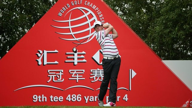 Rory McIlroy hit a stunning 65 at the WGC-HSBC Champions