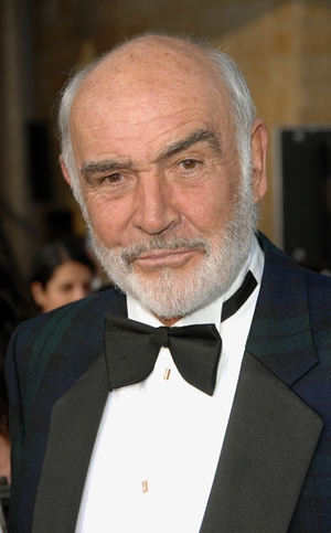 Sean Connery was voted America's favourite British actor