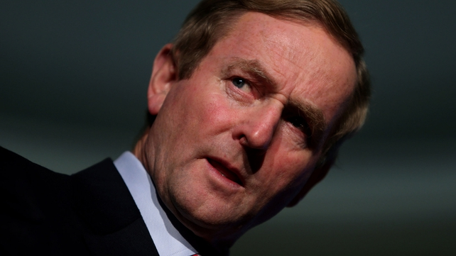 Enda Kenny said he continues to have a good relationship with the Catholic Church