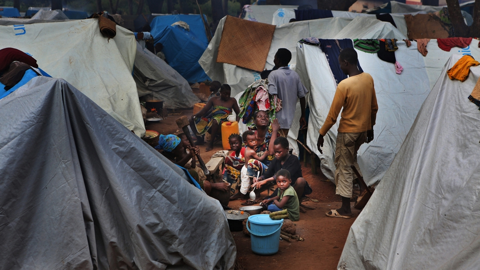 Aid workers said the church compound is like an open-air prison (Pic: Juan Carlos Tomasi, MSF)