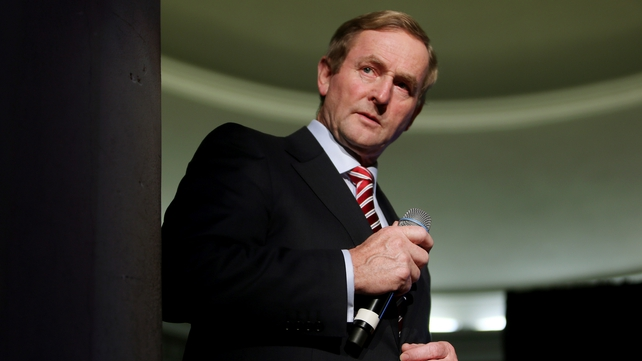 Taoiseach Enda Kenny will address the nation after the Nine News on Sunday night