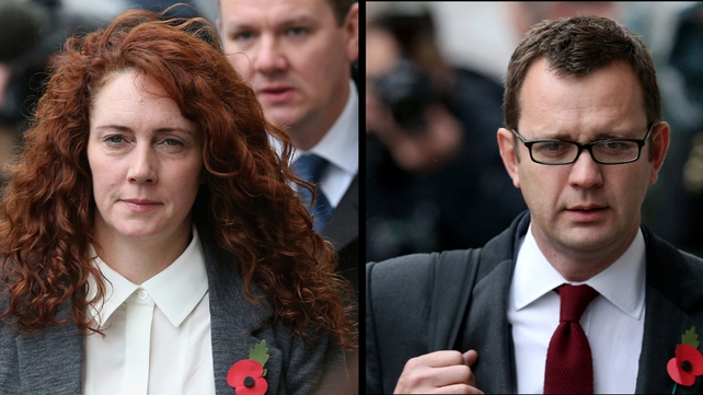 Rebekah Brooks and Andy Coulson deny conspiring to hack into phones or making illegal payments to public officials