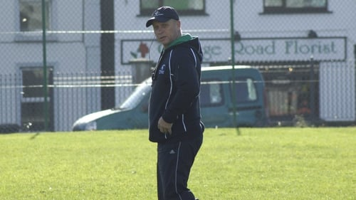 Dave Ellis has joined up with Connacht this week