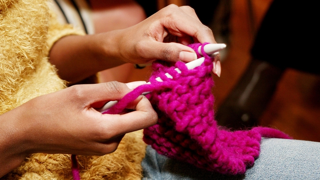 Various guests will share tips on anything related to knitting