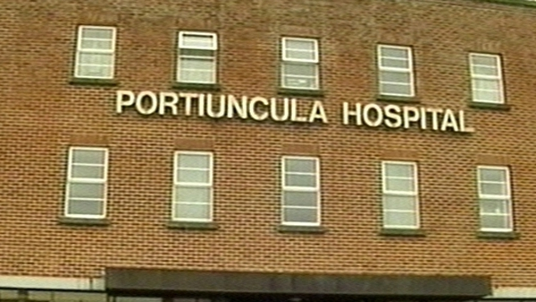 Four options involve the closure of the unit in Portiuncula Hospital