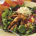 November 1st - Neven's Recepies - Spicy chicken salad with mango salsa.