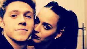 Niall pictured with his old mate Katy Perry