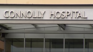 The man was pronounced dead at Connolly Hospital in Blanchardstown