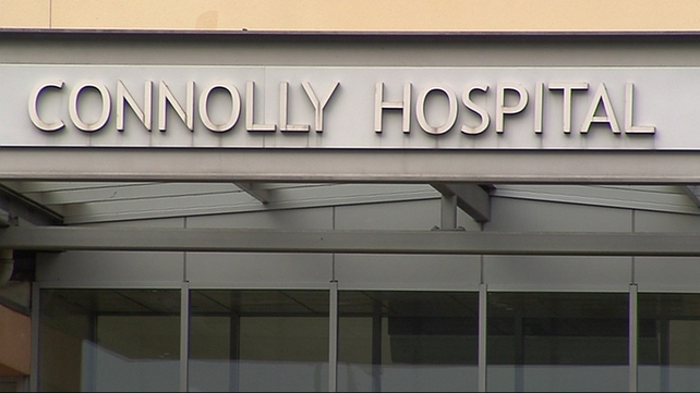 The injured man is being treated at Connolly Hospital