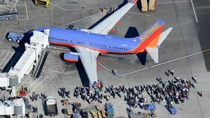 Passengers were forced to disembark planes