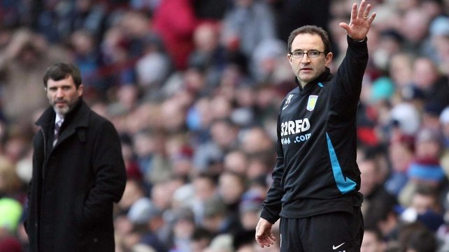 Martin O'Neill and Roy Keane (l) could be confirmed as Ireland's new managerial team in the next few days