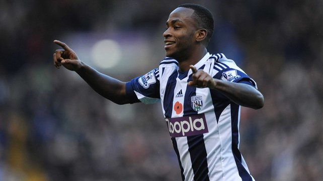Saido Berahino made a mistake that allowed Cardiff to equalise late in the game against West Brom