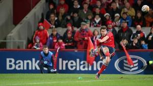 Ian Keatley converted three penalties for the winners