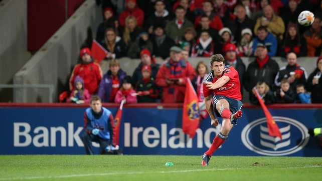 Ian Keatley is back for Munster