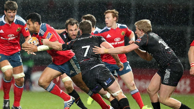 Casey Laulala will offer plenty for Munster in attack