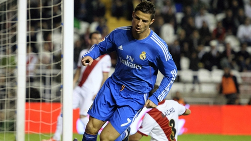 Cristiano Ronaldo was among the goals as Real bagged the points