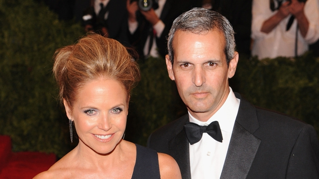 Katie Couric and John Molner