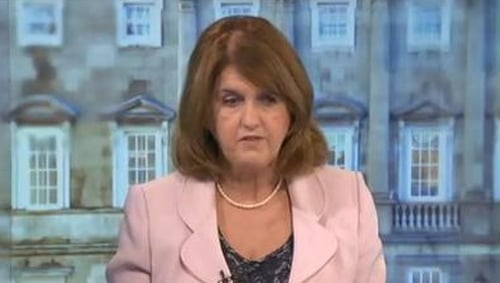 Joan Burton said the letter sent to homeowners by Revenue was very 'technical'