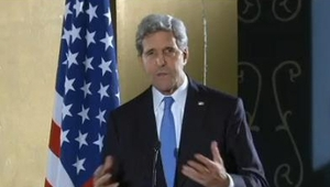 Mr Kerry acknowledged that last month's decision by President Barack Obama to freeze some military aid as well as $260m (€192m) in cash and this is pending progress on democracy and human rights, had not gone down well in Cairo