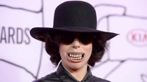 Lady Gaga at yesterday's awards